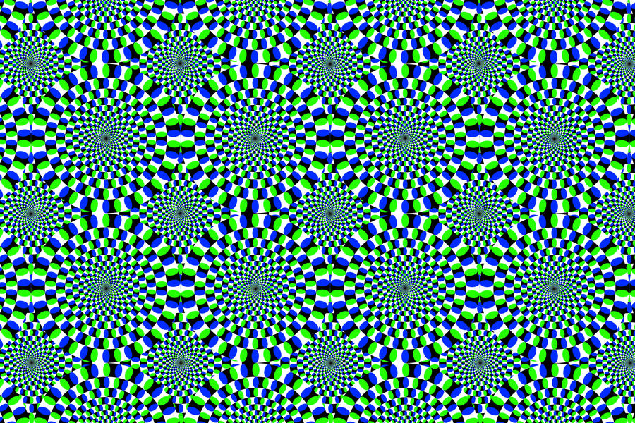 optical illusion wallpaper by evolutiontodivinity on