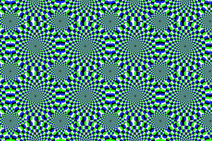 Optical Illusion Wallpaper By Evolutiontodivinity On Deviantart