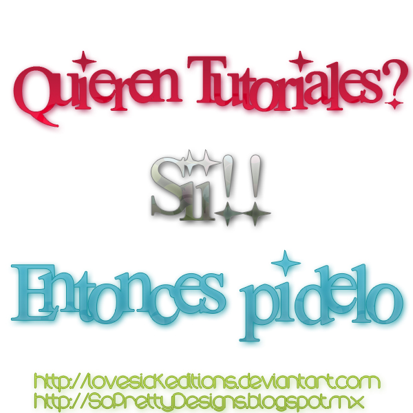Pidan tutoriales by LovesickEditions