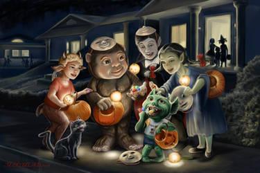 Happy Halloween by MBoulad