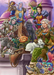 Warcraft Friends and Pets