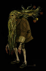 The Apple Gatherer by wredwrat