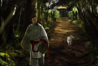 Inari Forest by wredwrat