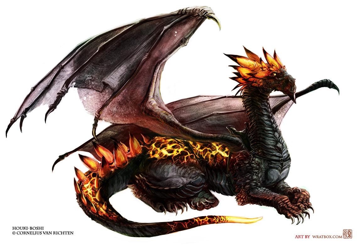 Houki-Boshi the dragon