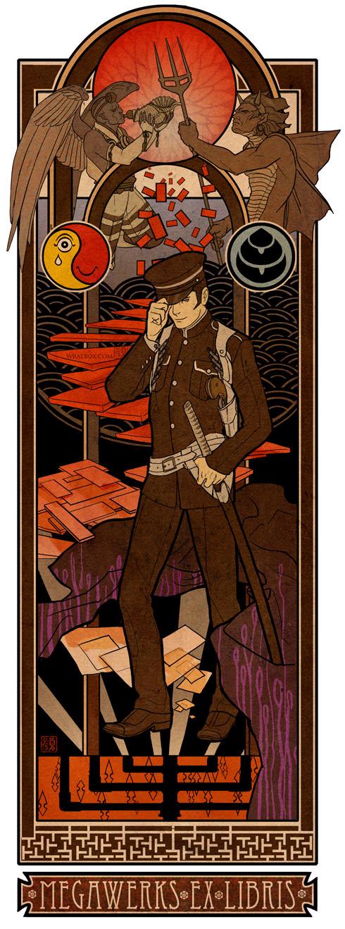 Devil Summoner RK: Ex Libris by wredwrat