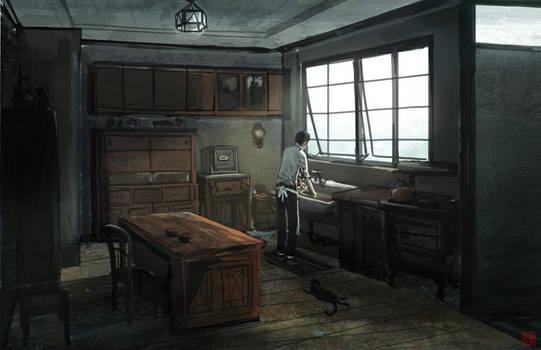 Taisho era kitchen