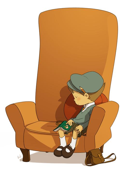 The Professor's Armchair by wredwrat