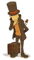 Professor for Zillabean by wredwrat