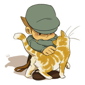 Luke and Kitty