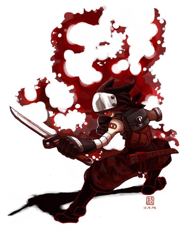 Everybody loves Ninjas by wredwrat