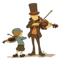 Professor of Music by wredwrat
