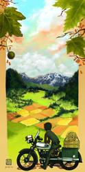 : The Beautiful World : by wredwrat