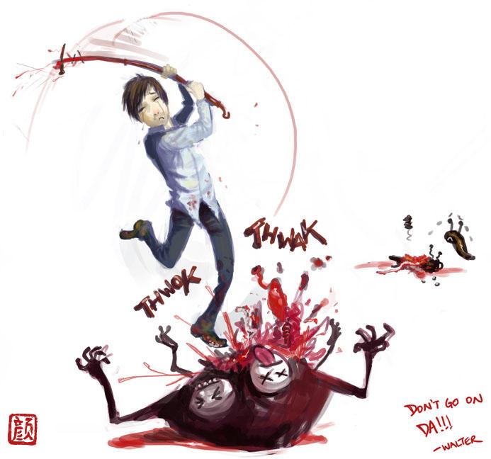 Silent Hill 4 love by wredwrat