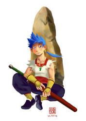 Ryu, Breath of Fire IV by wredwrat