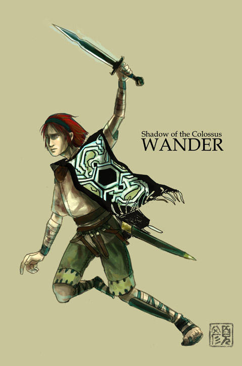 Wander, Shadow of the Colossus by wredwrat on DeviantArt