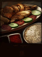 Chicken Rice by wredwrat