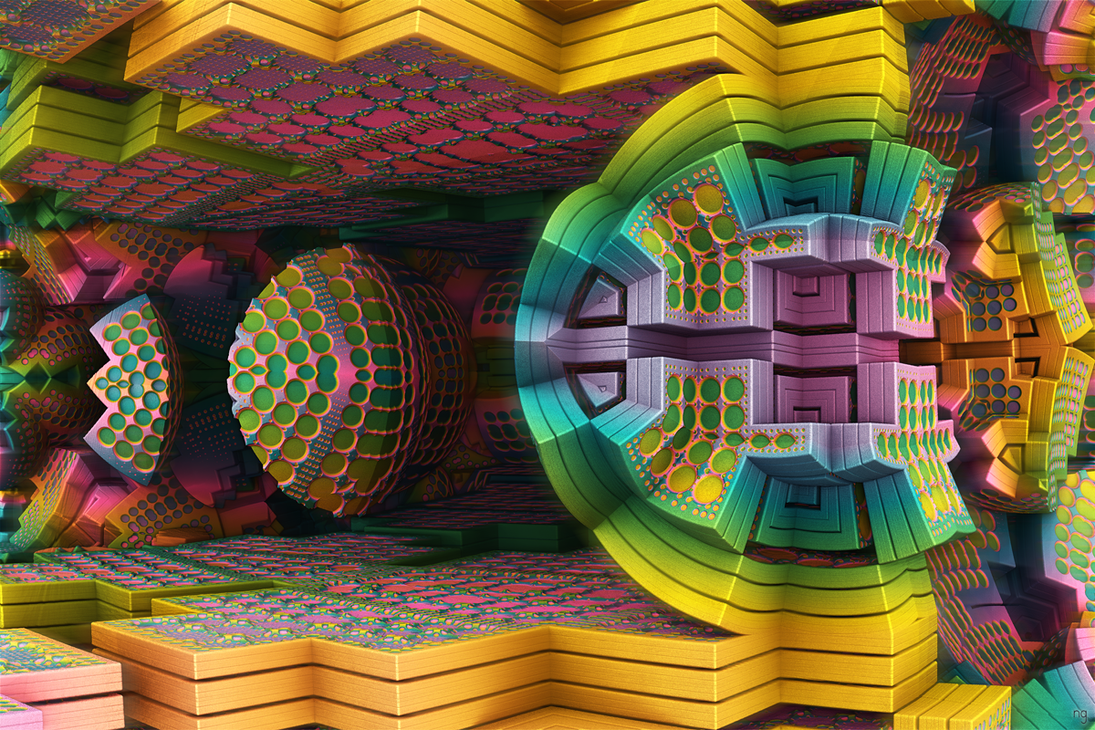 Spectral Reaction Chamber by geisty