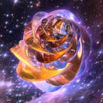 Spiral Folding Space