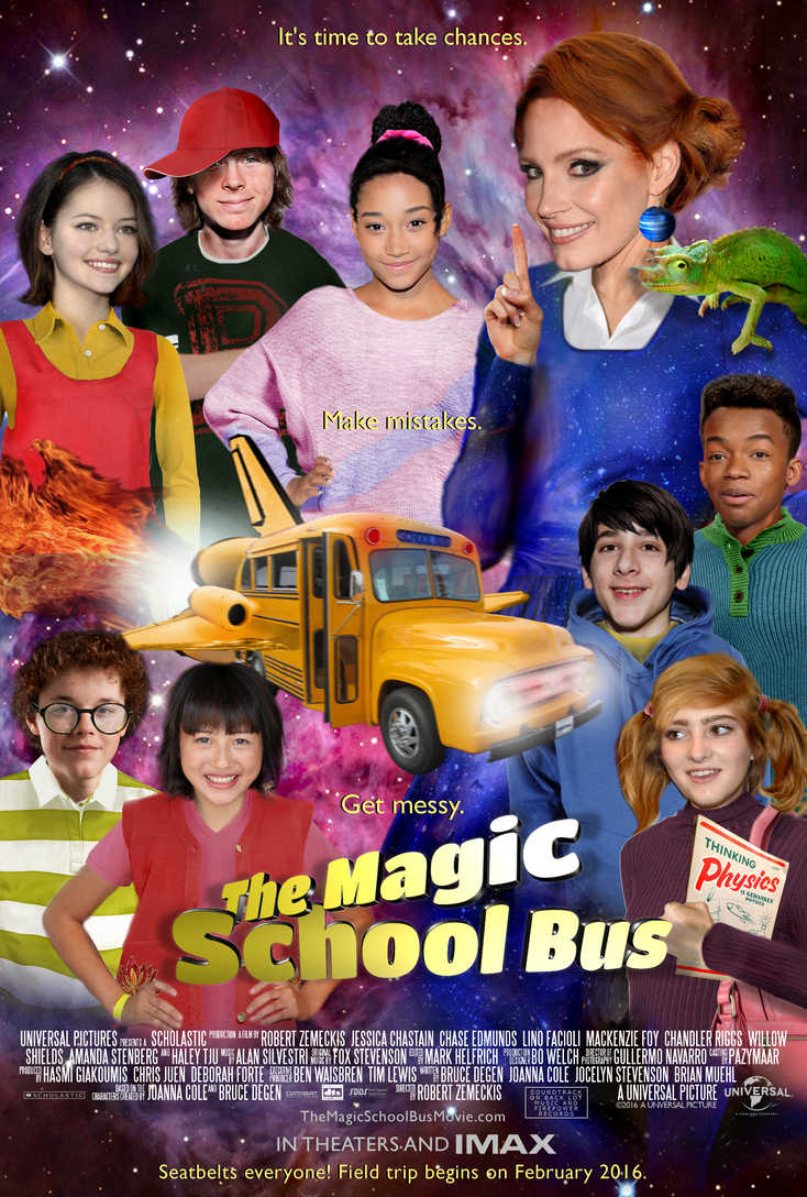 The Magic School Bus Movie [Fake Movie Poster] by Pazymaar