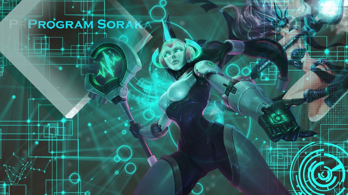 League Of Legends Program Soraka Wallpaper By Globalsupport