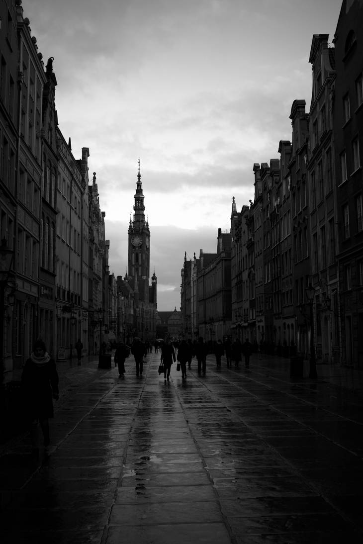 Gdansk City Hall by Minule