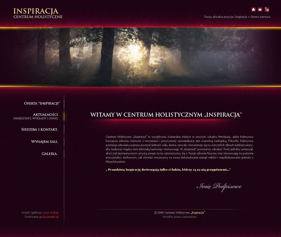 website layout 70 by t...
