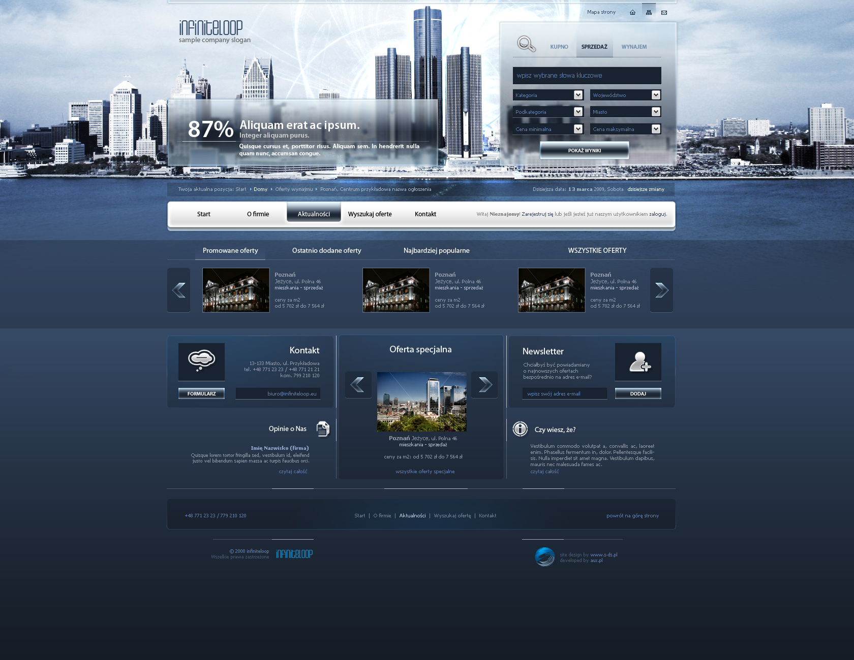 website layout 81 by tehacesequence designs interfaces web interfaces