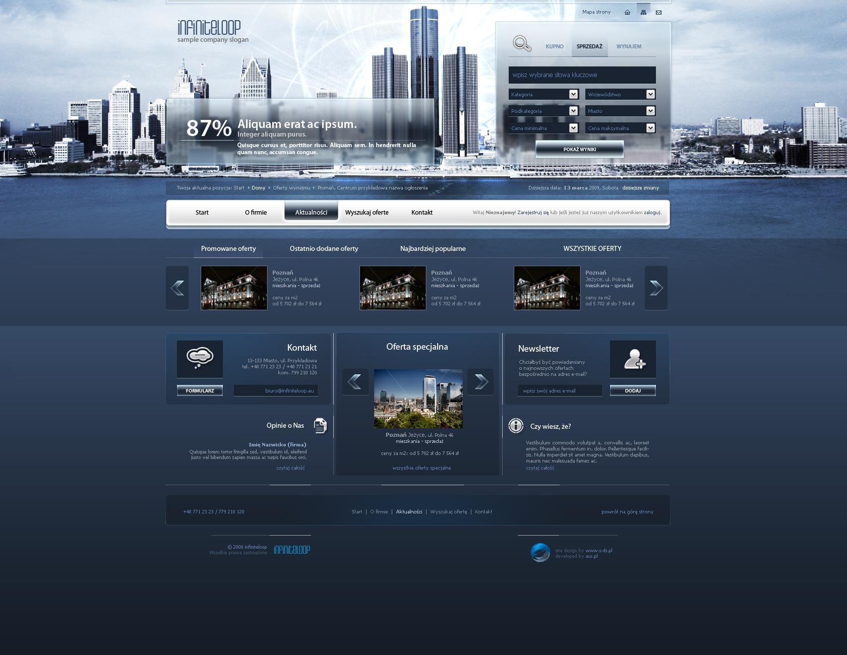 website layout 81