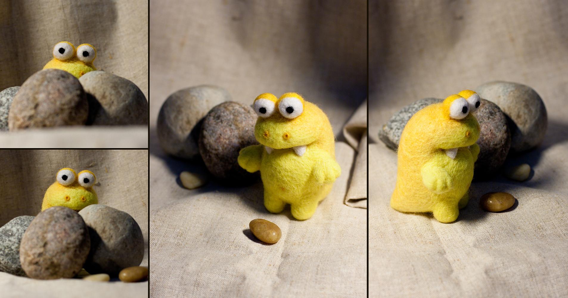 Mini-tyrannosaurus by Mimiori