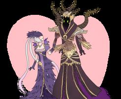 SMITE - A lady and a gentleman's romance? by Neko-mirichan