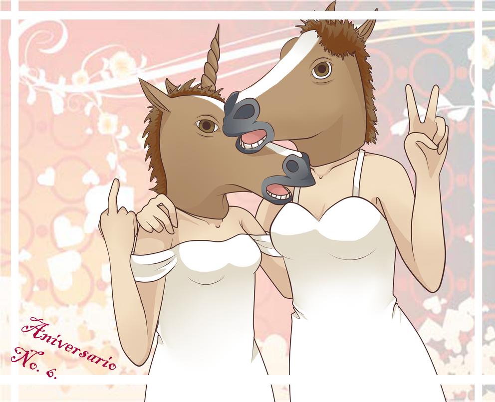 6to Tomodaniversario! by Neko-mirichan