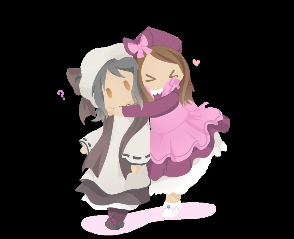 hugging hard!! by Neko-mirichan