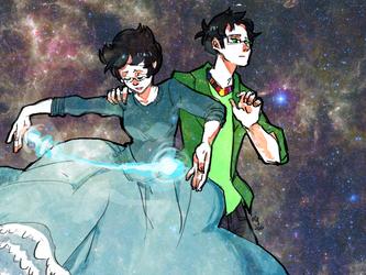 Starting Anew by nebula-tea