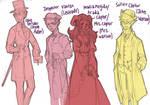 Holmestuck character sketches part 2
