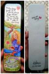 Gift - Bookmark by PatyKasagai