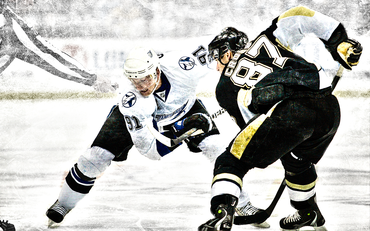 Crosby vs Stamkos Wallpaper by XxBMW85xX