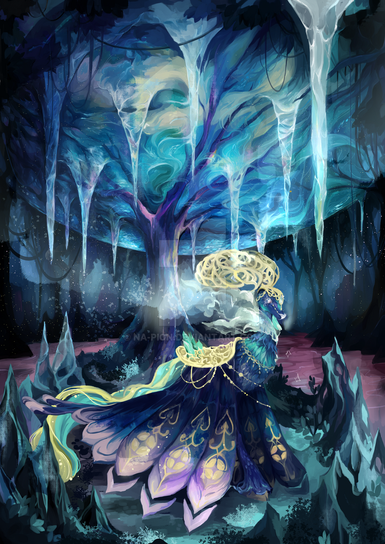 Beneath the Ocean Forest by Na-pion
