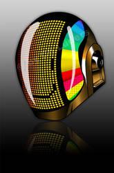 Daft Punk Helmet by Fleischparade