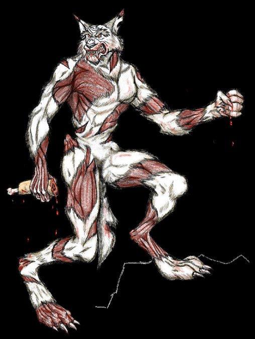 Lycan Zombie by Vampyrwolf