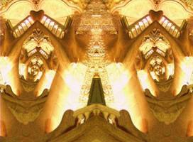 Cupido Temple by Gaudi Escher