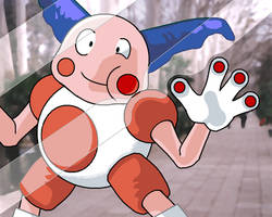 Mr. Mime by PHN001D-Deck