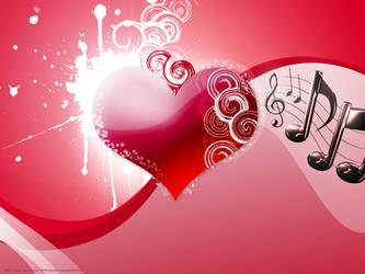 Music Heart by silva018