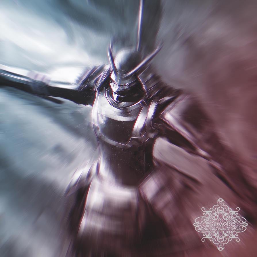 Rage of a Samurai Spirit by silva018