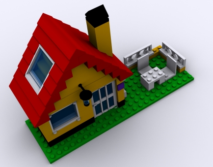 how to build a lego house video