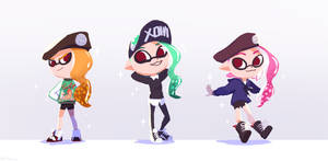 SPLATOON: Inkling Outfits!