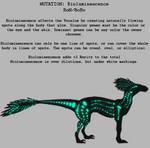 Mutation Bioluminescence