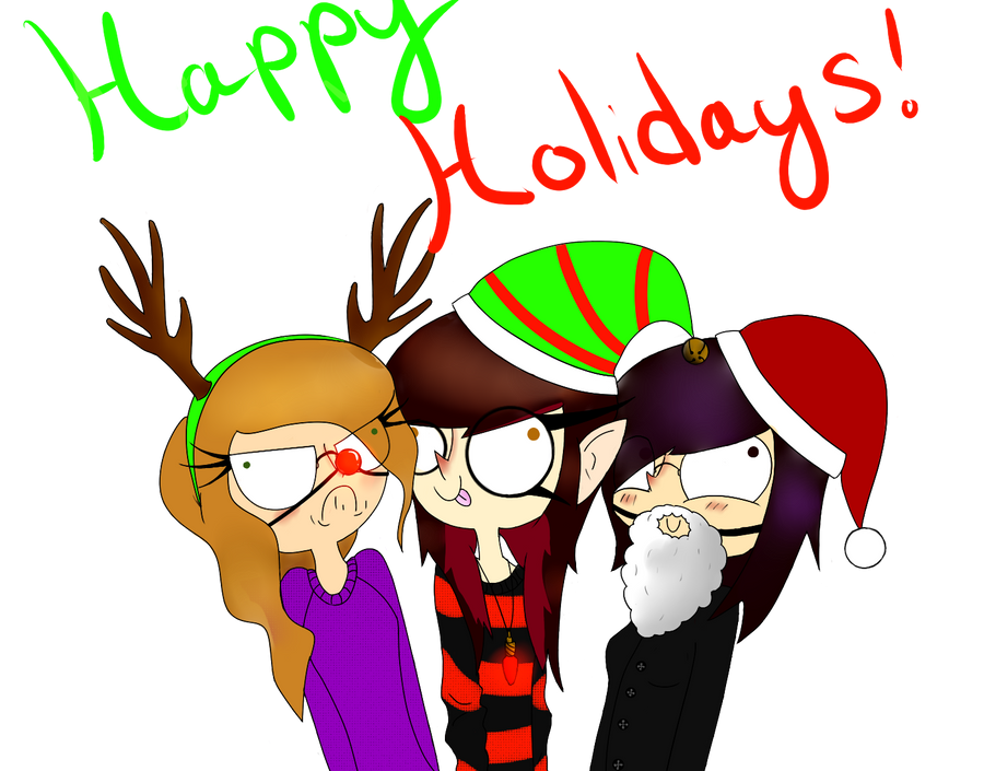 Christmas Card Worthy by CoccineousCephalopod