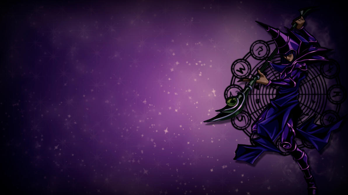 dark magician beautiful wallpaper