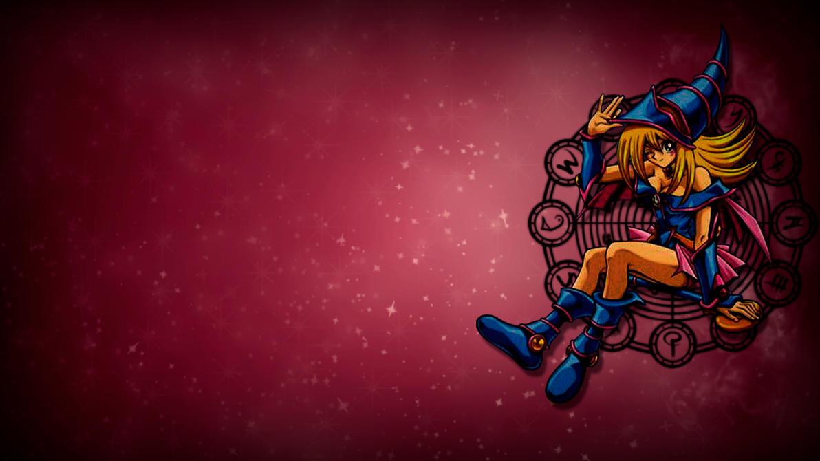 Dark Magician Girl Wallpaper by BonillaDesigner on DeviantArt