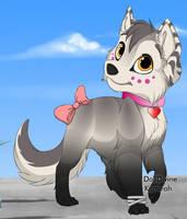 Wolfy, OC puppy by DangThatWolfyChu